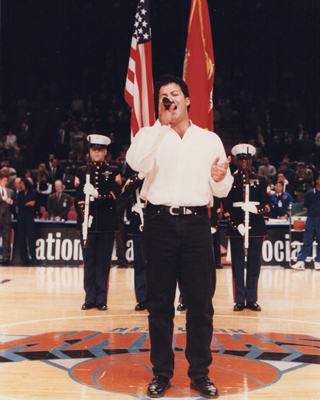 John Anthony Sings National Anthem